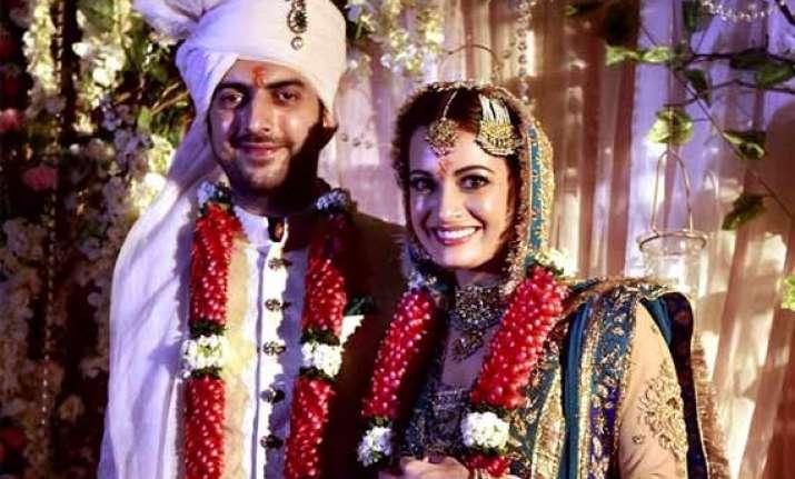 dia mirza marries longtime partner sahil sangha