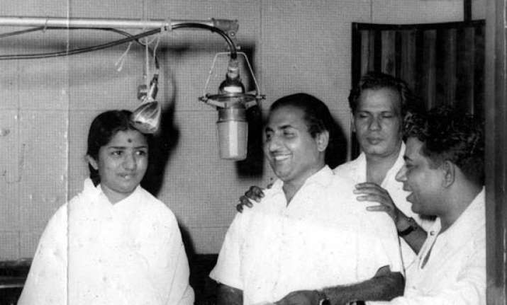 lata mangeshkar rafi s tracks will be remembered for a