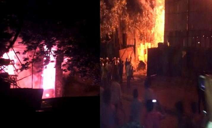 yeh hai mohabbatein and kumkum bhagya engulfed by fire see