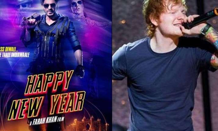 shah rukh khan s next to have ed sheeran