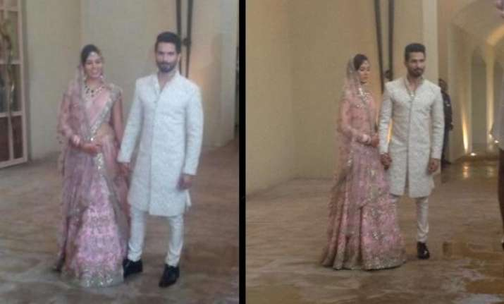 shahid mira wedding sneak peek inside the hush hush affair