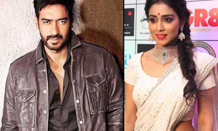 ajay devgn to romance shriya saran in drishyam remake