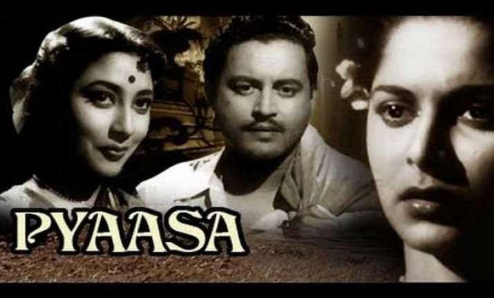 guru dutt s classic pyaasa selected for venice film festival