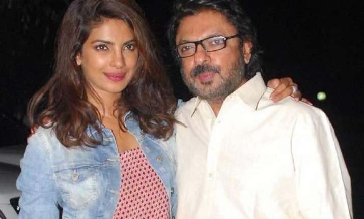 priyanka chopra sanjay leela bhansali to work together for