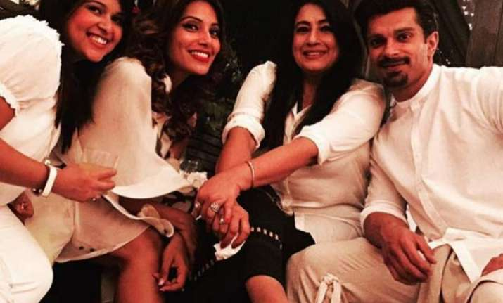 bipasha s mother welcomes karan to family. is marriage on