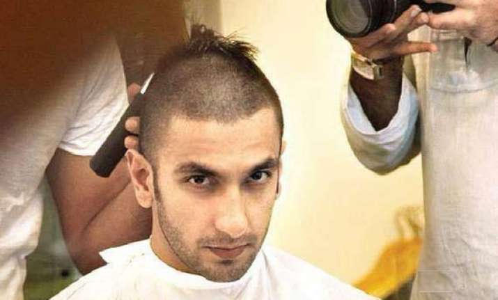 after shahid kapoor ranveer singh shaves his head for