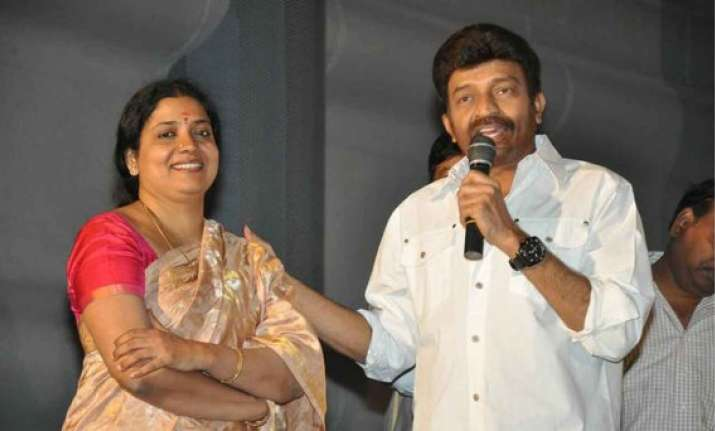 rajasekar is experimenting with comedy jeevitha