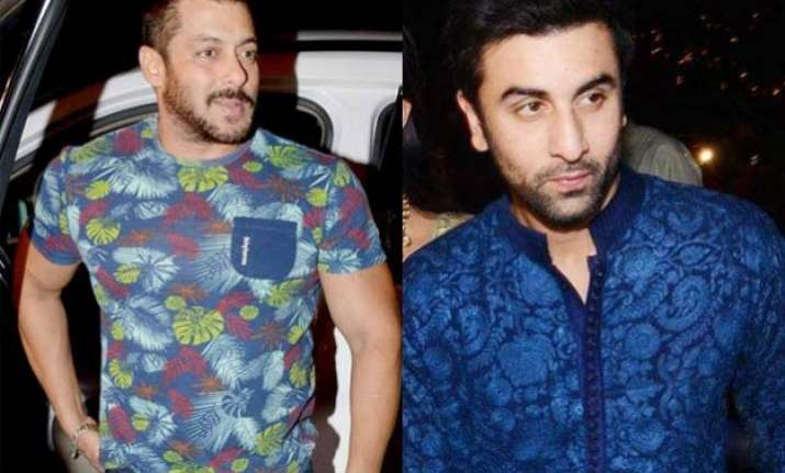 coincidence or planned ranbir kapoor makes quick exit as