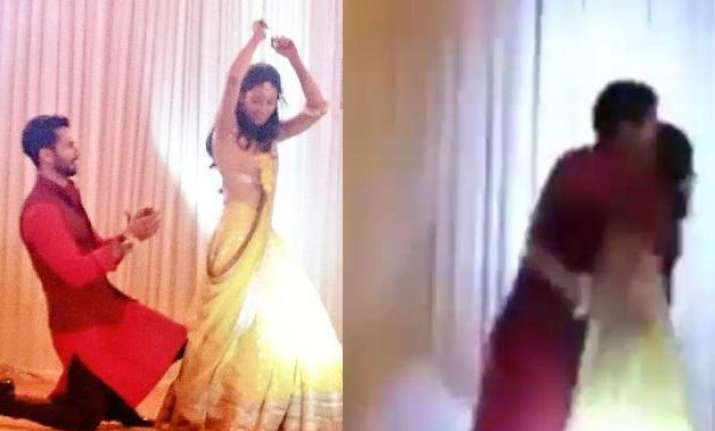 shahid mira sangeet watch video of the couple getting