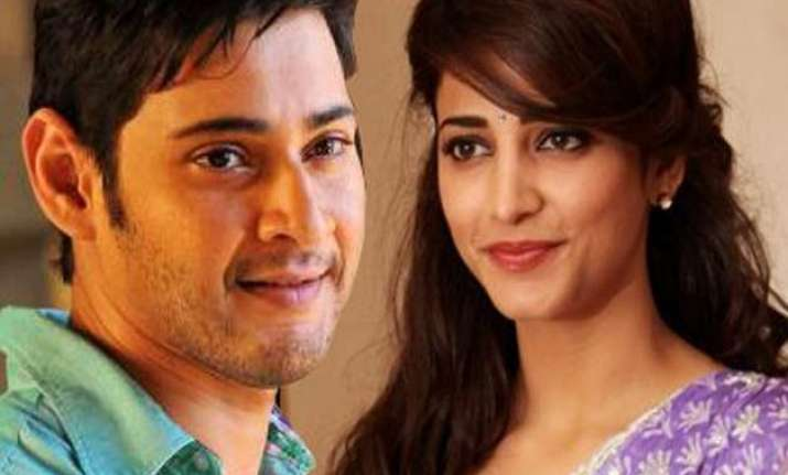 for shruti haasan mahesh babu is one of the most handsome