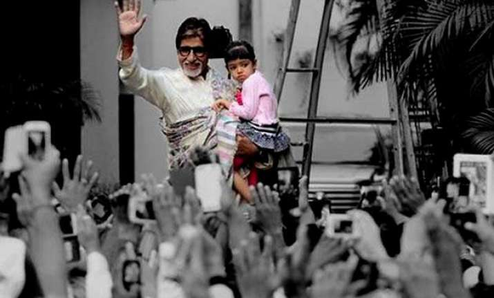amitabh bachchan reveals aaradhya s details on blog