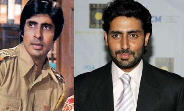 abhishek plays inspector vijay in rohan sippy s dum maro dum