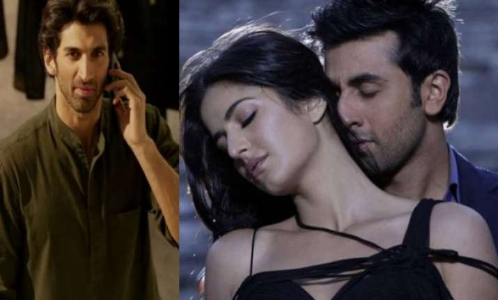 aditya roy kapur in fitoor to bring ranbir and katrina close
