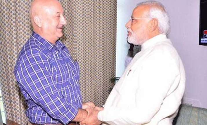 pm modi still on my wishlist for show anupam kher