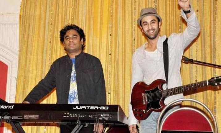 rahman has created magic with tamasha songs mohit chauhan