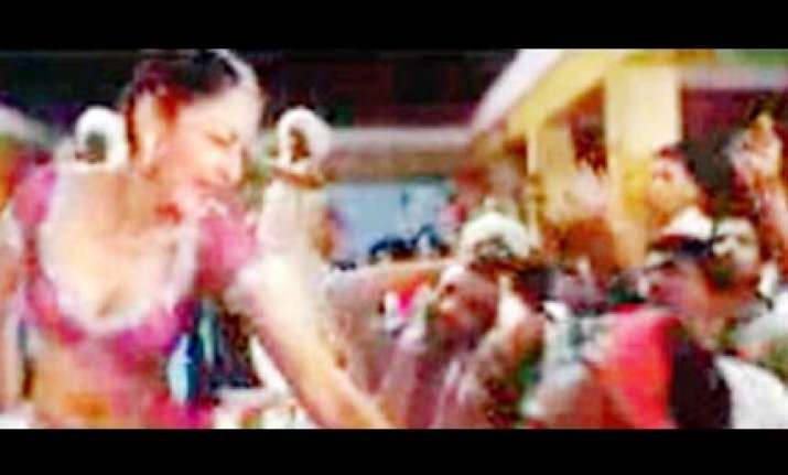 bid to remove maanyata s item song from gangaajal