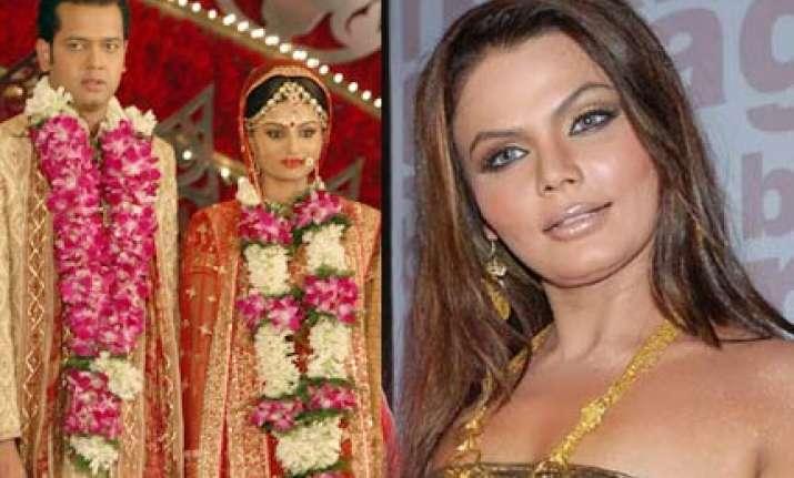 dimpy rahul will break up predicts rakhi sawant