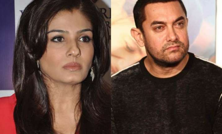what have you done for india raveena asks aamir khan