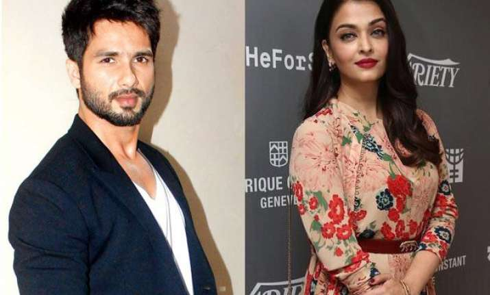 shahid kapoor was nervous before meeting aishwarya for taal