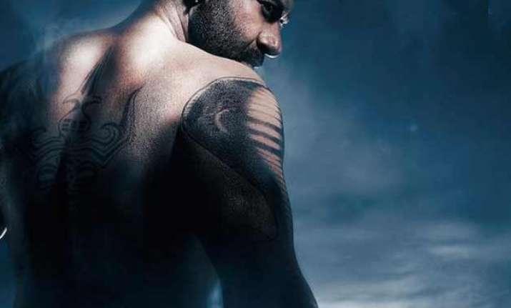 ajay devgn s bare body and tattoos grab eyeballs in shivaay