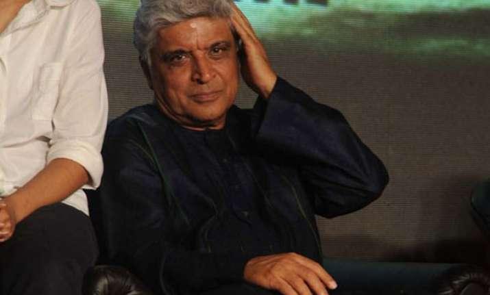 why blame cinema for violence rape asks javed akhtar