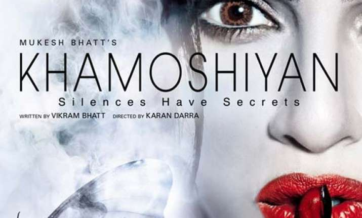 vikram bhatt had earlier planned to make khamoshiyan as