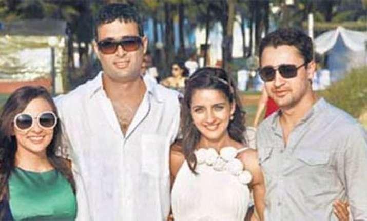 shruti seth marries danish in goa