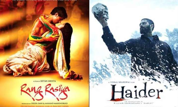 Top 10 Bollywood Film Posters Of 2014 See Pics Bollywood News