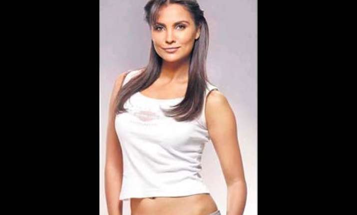 lara dutta comes out with a fitness video