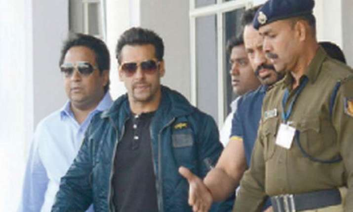 arms act case against salman court stays proceeding in