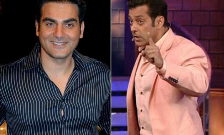 omg arbaaz khan makes fun of big brother salman khan watch