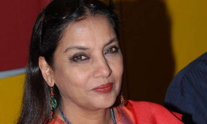 shabana azmi feels it s happy time for women in indian