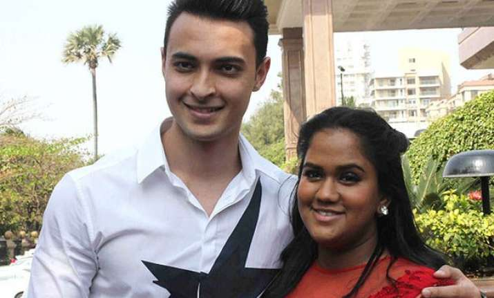 salman khan s sister arpita shares the pic of her first