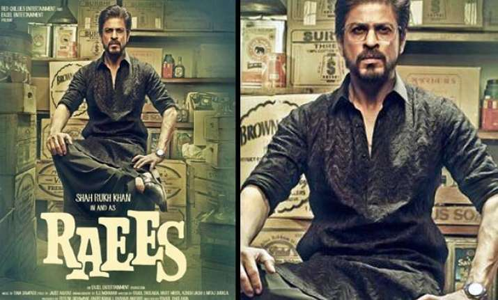 49 year old srk s raees poster evokes teenage crush of an