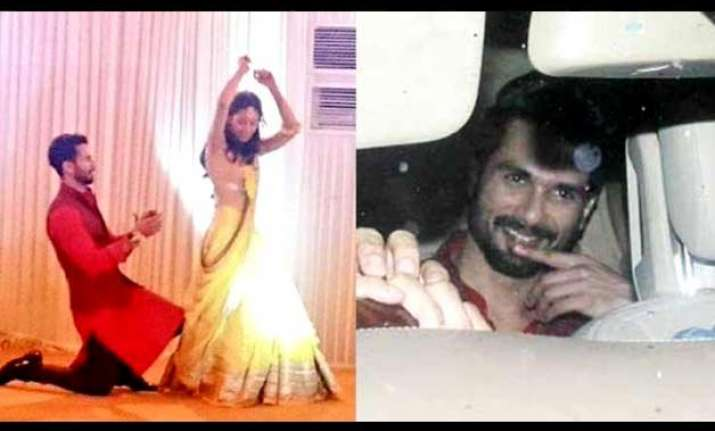 shahid mira sangeet the couple goes romantic on the dance
