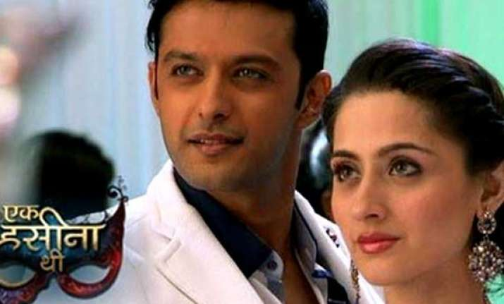 vatsal sheth scares sanjeeda sheikh on the sets os ek