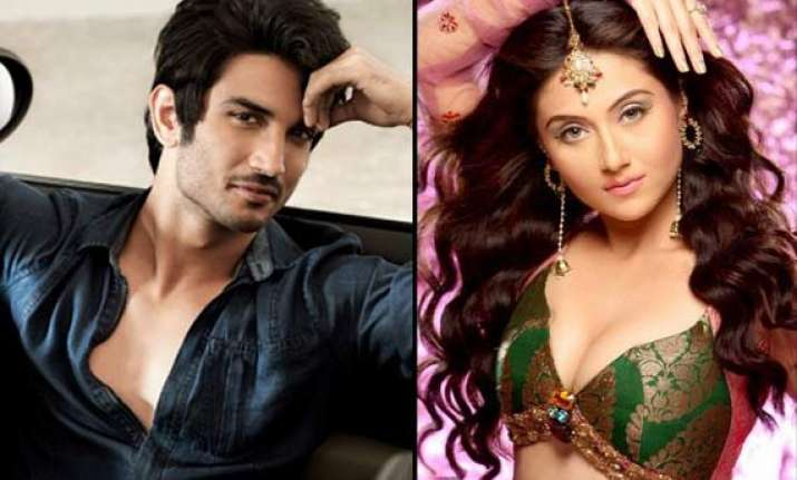 new serial kisser sushant singh rajput locks lips with