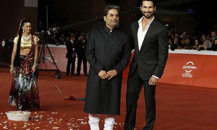 haider amazes internationally at rome film festival makes