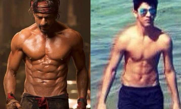 papa shah rukh khan faces fierce competition from son aryan