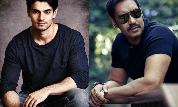 sooraj pancholi to share screen space with ajay devgn
