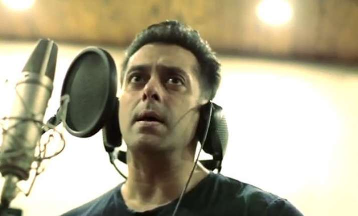 salman khan sings for sooraj athiya starrer hero