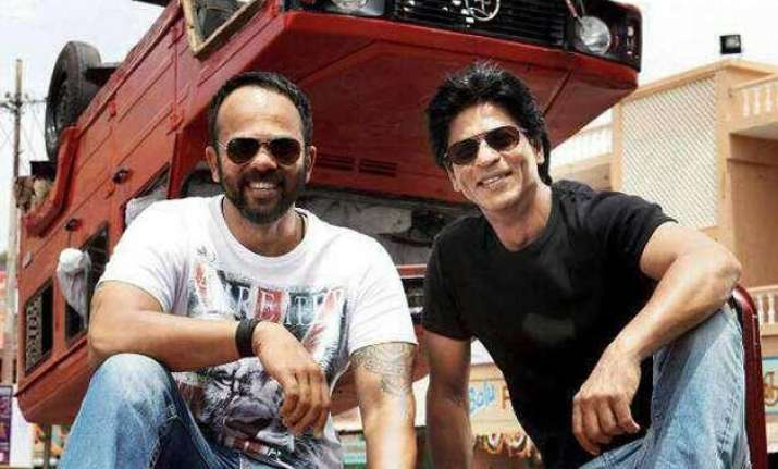 rohit shetty s shah rukh khan starrer to have 17 actors
