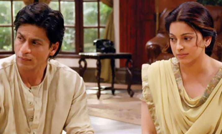 juhi chawla is eager to work with shah rukh khan