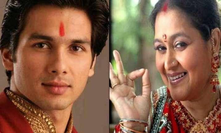 shahid kapoor s wedding mother supriya pathak reveals