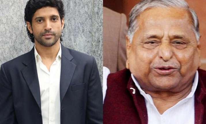 is farhan akhtar going to star in mulayam singh yadav s