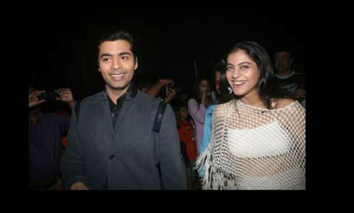 karan johar is more than a brother feels kajol
