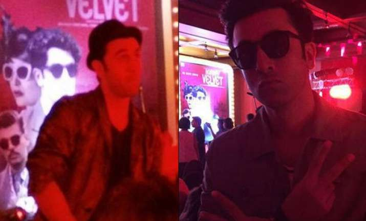 ranbir kapoor caught giving lap dance to a special someone