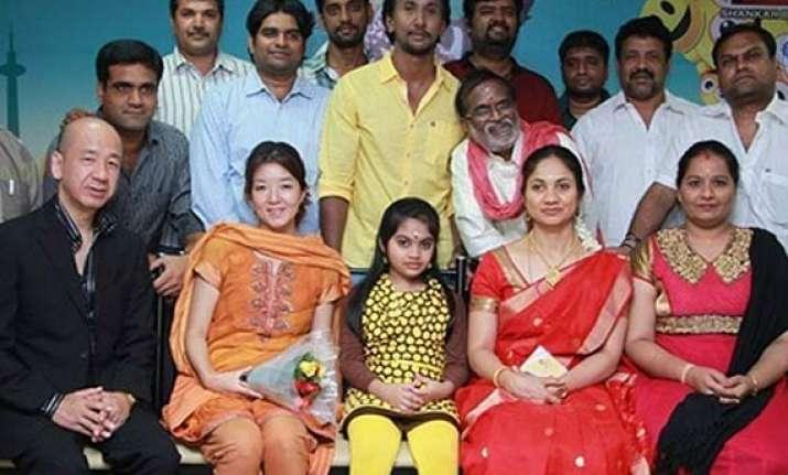 tamil movie jumbo 3d cast boasts over 100 japanese actors
