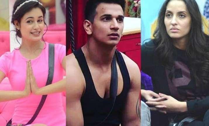 bigg boss 9 prince narula gets exposed by yuvika and nora