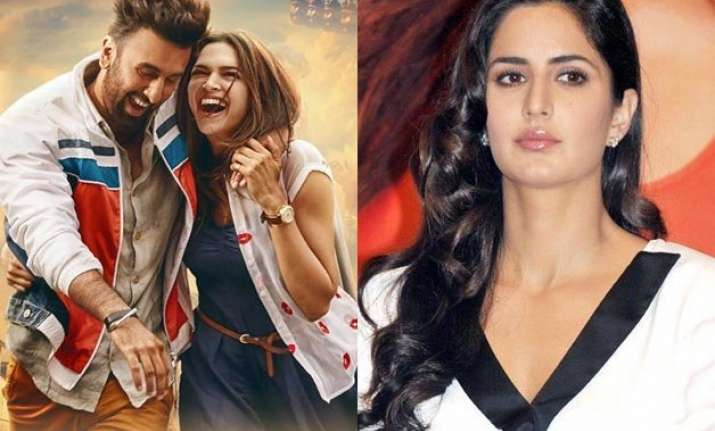 finally katrina breaks her silence on ranbir deepika s